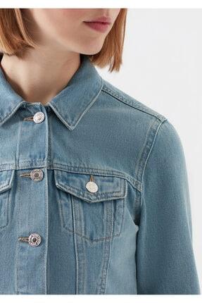 Mavi Kadın Daphne Açık  Jean Ceket 1174128085 4
