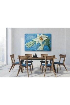Makeart Home Amazing Big Lily Kanvas Tablo - 1