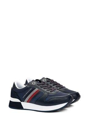 Tommy Hilfiger Kadın Lacivert Active City Sneaker Fw0fw05011 0
