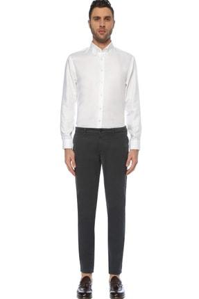 Network Erkek Beyaz Non Iron Beyaz Desenli Gömlek 1075280 1