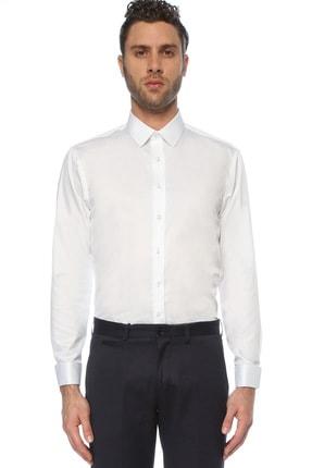 Network Erkek Beyaz Non Iron Beyaz Gömlek 1075276 0