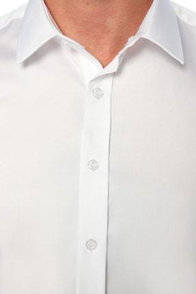 Network Erkek Beyaz Non Iron Beyaz Gömlek 1075276 3