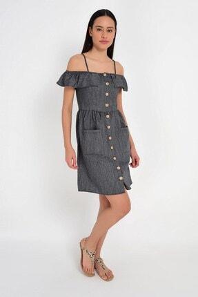 Cotton Mood 9201581 Bodrum Madonna Yaka Askılı Elbise 2