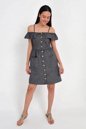 Cotton Mood 9201581 Bodrum Madonna Yaka Askılı Elbise 3