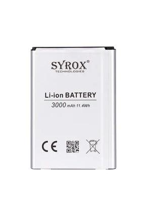 LG Syrox G3 / G3 Stylus Batarya 3000 Mah B170 0