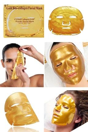 Xolo Fuşya Şarjlı Yüz Temizleme Cihazı + Gold Bio Collagen Altın Yüz Maskesi 8133458903571 1