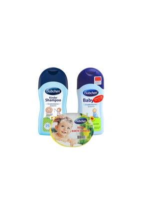 Bübchen Şampuan 400 Ml + Bebek Yağı 400 Ml + Sünger 0