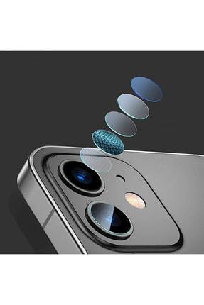 Baseus Iphone 12 Mini 5.4-iphone 6.1 Uyumlu Tempered Kamera Lens Koruma Camı 2set 1