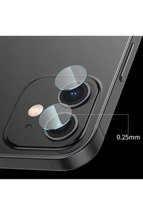 Baseus Iphone 12 Mini 5.4-iphone 6.1 Uyumlu Tempered Kamera Lens Koruma Camı 2set 4