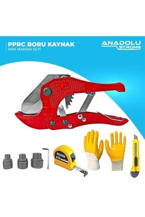Anadolu Strong Ans1026 Pprc Boru Kaynak Mini Makina Seti (3metre,eldiven Ve Falçata Hediye)) 3