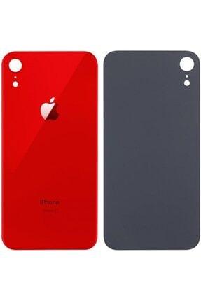 OEM Apple Iphone Xr Arka Cam Kapak Kırmızı 0