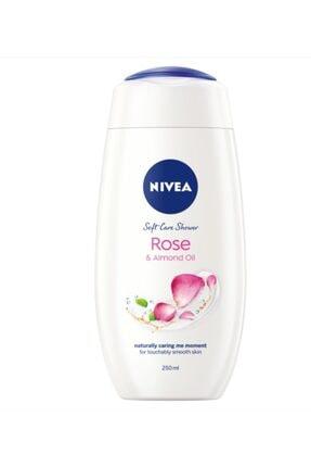 Nivea Rose & Badem Yağlı Yumuşak Bakım Duş Jeli 250 Ml X 2 Adet 1