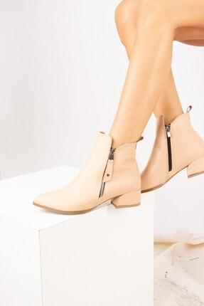 Fox Shoes Ten Suni Deri Kadın Bot G820001309 1