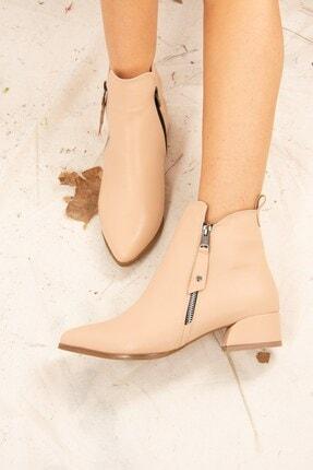 Fox Shoes Ten Suni Deri Kadın Bot G820001309 3
