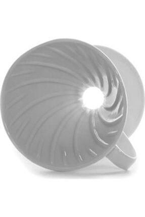 Epinox V60 02 Beyaz Kahve Demleme Aparatı Seramik 3605002100 1