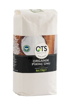 OTS Organik Organik Pirinç Unu 750gr 0