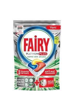 Fairy Platinum Plus Bulaşık Makinesi Deterjanı 40 Tablet 0