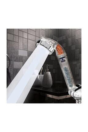 ustuneyok Kokulu Duş Başlığı + 130 Cm Duş Hortumu + Duş Mafsalı 3parça Set 1