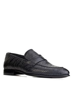 Cabani Erkek Siyah Hakiki Deri Klasik Ayakkabı 0KEP02AY003700 0