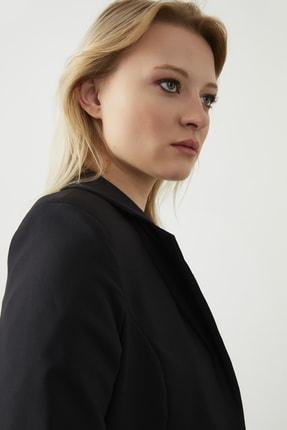 ELBİSENN Kadın Siyah Blazer Ceket Pantolon İkili Takım 2