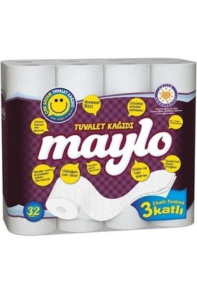 Maylo Tuvalet Kağıdı 3 Katlı 32 Li Paket+ 12 Li Kağıt Havlu (3 Katlı) 1