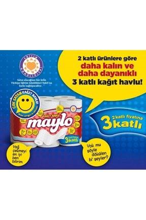 Maylo Tuvalet Kağıdı 3 Katlı 32 Li Paket+ 12 Li Kağıt Havlu (3 Katlı) 4