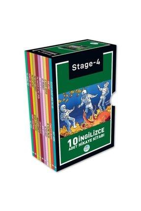Mavi Çatı Yayınları Stage-4 Ingilizce Hikaye Seti 10 Kitap Maviçatı Yayınları 0