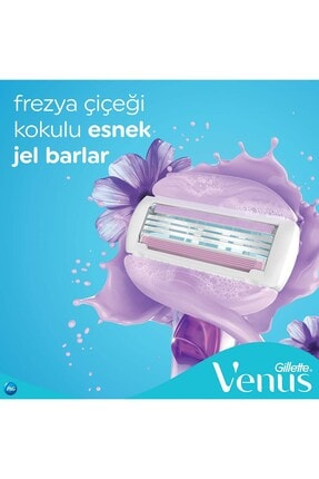 Gillette Venüs Comfort Glide Breeze 4'lü Yedek Başlık 3