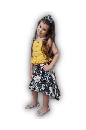 Riccotarz Kız Çocuk Elizabeth Sarı Etekli Takım 2
