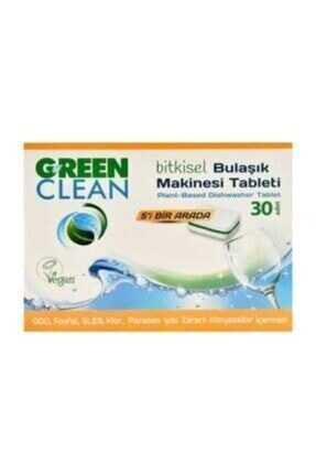U Green Clean Green Clean Bitkisel Bulaşık Makinesi Tableti 30 Adet 0