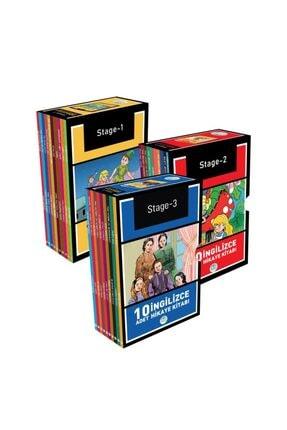 Mavi Çatı Yayınları Ingilizce Hikaye Seti 30 Kitap (stage 1-2-3) Maviçatı Yayınları 0