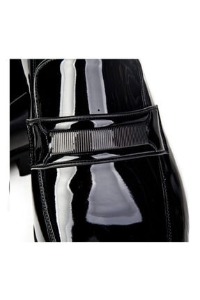 Cabani Erkek Siyah Hakiki Deri Klasik Ayakkabı 0YES22AY004428 2