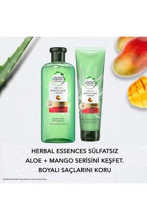 Herbal Essences Sülfatsız Renk Koruma Ve Nem Aloe + Mango Şampuan 380 Ml + Saç Bakım Kremi 275 Ml 4