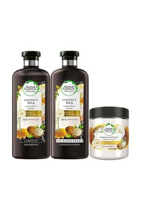 Herbal Essences Hindistan Cevizi Sütü Saç Bakım Seti 1