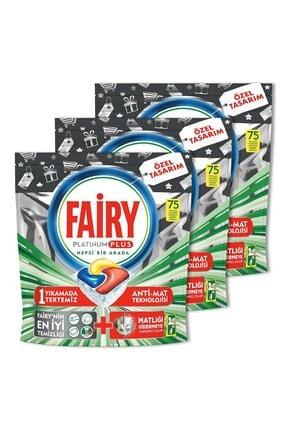 Fairy Platinum Plus 3*75 Yıkama Bulaşık Makinesi Kapsülü Özel Seri 1