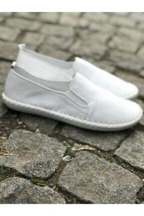 FREEFOUR Hakiki Deri Günlük Rahat Kadın Ayakkabı 1