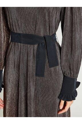 VKM Kadın Bakır Simli Rahat Kesim Elbise 9209-0025 3