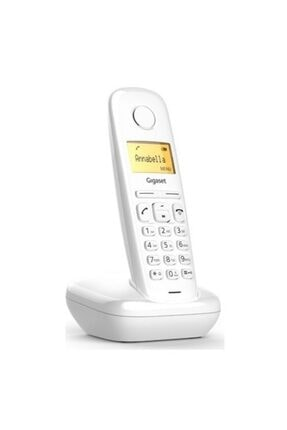 Gigaset A170 Kablosuz Lcd Ekranlı Telefon Beyaz 1