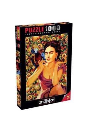 Anatolian Puzzle Frida Kahlo 1000 Parça Puzzle - Yapboz 0