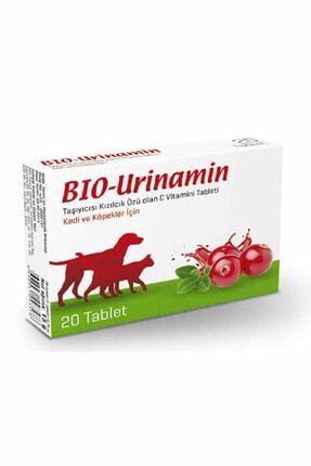Bio PetActive Bio-urinamin 20 Tablet Kedi Ve Köpekler Için C Vitamini Tableti 0