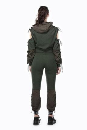 Ruck & Maul Kadın Yeşil Örme Pantolon 21061 10509 2