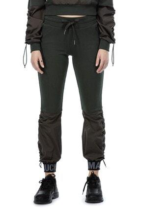 Ruck & Maul Kadın Yeşil Örme Pantolon 21061 10509 3