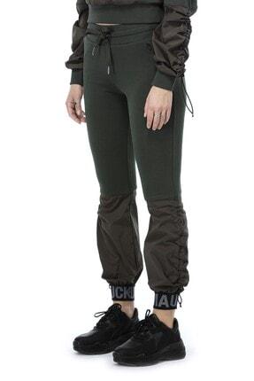 Ruck & Maul Kadın Yeşil Örme Pantolon 21061 10509 4