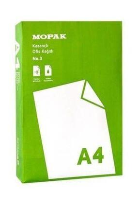 Mopak -kazançlı Ofis A4 Fotokopi Kağıdı 80 Gr 1 Koli (5 Paket) 1