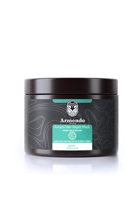 Armendo Keratinli Saç Bakım Şampuanı Ve Keratin Saç Maskesi Seti 2