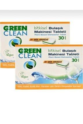 Green Clean Bulaşık Makinesi Tablet 30'u x 2 0