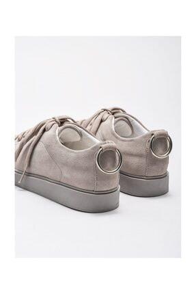 Elle Gri Kadın Spor Ayakkabı 3