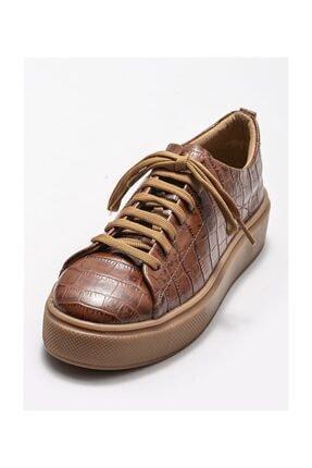 Elle Taba Deri Kadın Spor Ayakkabı 2