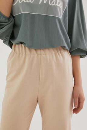 Loreen Kadın Koyu Bej Pantolon 30189-148 4