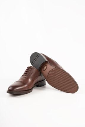 MARCOMEN Erkek Kahverengi Hakiki Deri Ayakkabı 2
